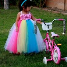 compare prices on rainbow dress for girls online shopping buy low