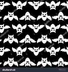 seamless halloween backgrounds bats wallpaper stock vector