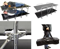 Bunk Bed Cots For Cing These Cing Cots Let You Rack Em And Stack Em The 3 Person Bunk
