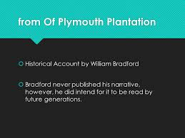 plymouth plantation book collection 1 exploration and settlement coming to america ppt