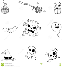 doodle of cute halloween for kids stock vector image 73017968