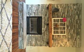 how to put stone on a fireplace amazing home design fancy at how