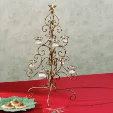 christmas tree holiday table candelabra