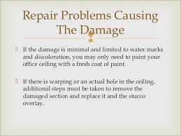 Repair Ceiling Hole by How To Repair A Stucco Ceiling