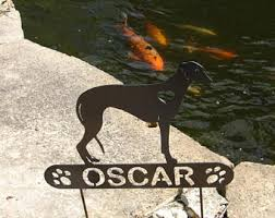 greyhound memorial etsy