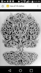 family unity symbols celtic tree of life art symbol with sun and