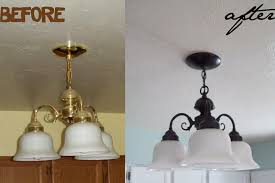 Cheap Light Fixtures by Running With Scissors Lighting Makeover On A Budget