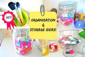 Bedroom Organization Ideas by Room Decor Organization And Storage Ideas With Jars Diy Youtube