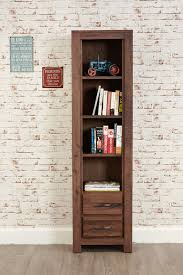 narrow bookcase with doors present daze furniture u0026 gifts