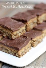 Oatmeal Bars With Chocolate Topping Chocolate Peanut Butter Oatmeal Bars So Good Bar Pinterest