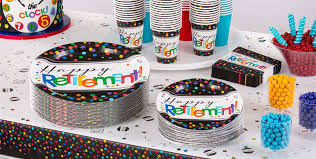 party goods happy retirement party supplies retirement party ideas