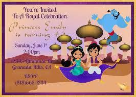 printable thank you cards princess printable princess jasmine aladdin birthday party invitation plus
