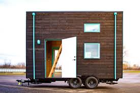 new tiny house design exposes framing and electrical curbed