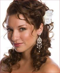 wedding hairstyle for curly hair medium wedding hairstyle curly