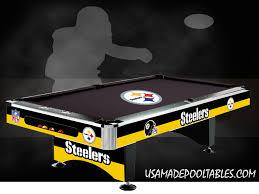 Custom Pool Tables by Nfl Mlb Nba Pool Tables Licensed Pool Tables College