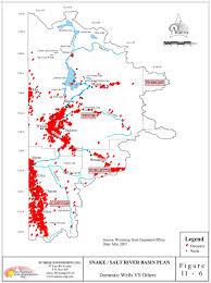 Afton State Park Map by Wyoming State Water Plan Snake Salt River Basin Plan