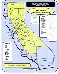 Sacramento California Map Travel Boundaries Eastern District Of California