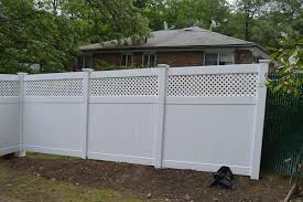 vinyl diagonal lattice lattice fences affordable fence