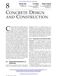 8 concrete design and construction concrete construction aggregate