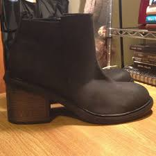 s shoes and boots size 9 68 outfitters shoes silence noise black ankle boots