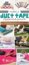 diy duct tape zippered pouch prodigal pieces