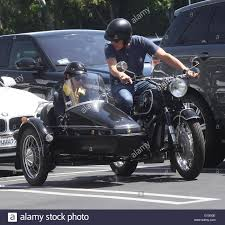 bmw vintage motorcycle selma blair takes a ride in a sidecar of a vintage bmw motorcycle