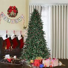 costway 6ft artificial pvc tree 1388 tips green w pine