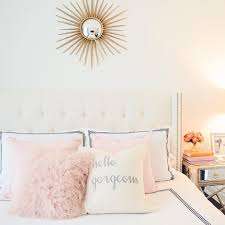 Pink Gold Bedroom by Hello Gorgeous Dream Home Pinterest Hello Gorgeous