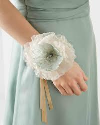 Wedding Wrist Corsage Wedding Corsage Ideas Martha Stewart Weddings