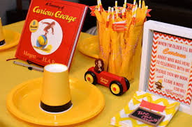 curious george birthday party decorations diy Curious George