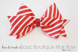 hair bow diy projects hair bows