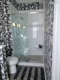 Bathroom Wallpaper Modern Bathroom Wallpaper Patterns Removable Wallpaper In The Bathroom