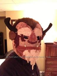 homemade beast mask from beauty and the beast masking costumes