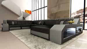 couch u form wohnlandschaft matera xxl u form ecksofa couch beleuchtung sofa