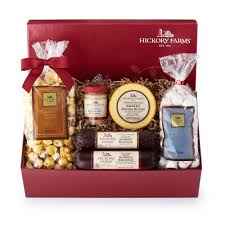 Cheese And Sausage Gift Baskets Holiday Treasure Chest Gift Purchase Our Gourmet Sausage