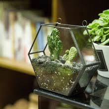 popular geometric hanging glass terrarium buy cheap geometric