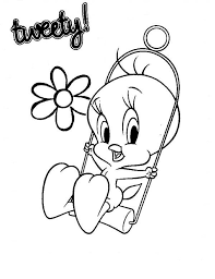 printable tweety bird coloring pages kids coloringstar