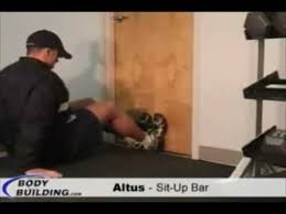 Everlast Sit Up Bench Altus Sit Up Bar Youtube