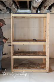 basement or garage shelving with 100 more info