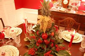 Holiday Table Decorating Ideas Christmas Tablescape With Lenox Holiday And A Colonial