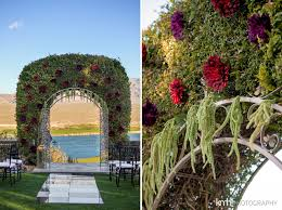 wedding arch las vegas bridal wedding fashion shoot paiute golf resort las vegas