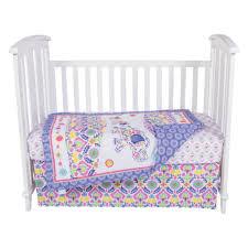 Waverly Crib Bedding Waverly Pom Pom Spa 4 Pc Crib Bedding Set Jcpenney