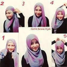 tutorial memakai jilbab paris yang simple ini dia cara memakai hijab paris yang mudah untuk aktifitas sehari