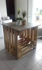 repurposed kitchen island repurposed wooden pallet ideas pallet kitchen island pallets