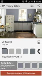 behr u0027s gray heather colors pinterest