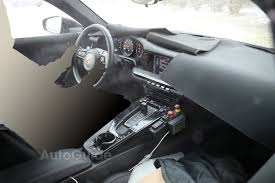 porsche electric interior 992 interior spy shots rennlist porsche discussion forums