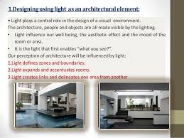 architectural lighting design online course light and architecture