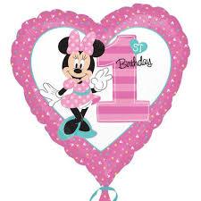 minnie mouse 1st birthday minnie mouse 1st birthday bouquet t o balloons
