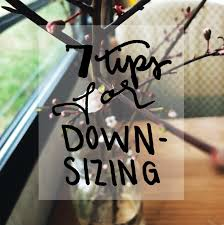 tips for downsizing 7 tips for downsizing your living space brightly done