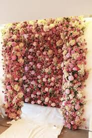 wedding backdrop of flowers the 2015 wedding trend 22 flower wall backdrops